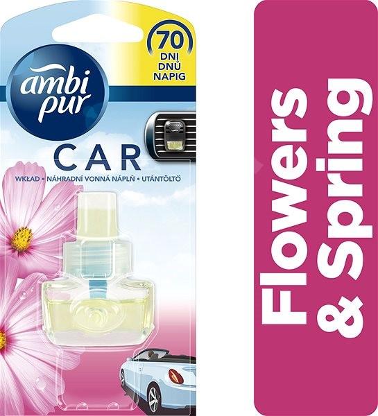 AMBI PUR Car Flowers & Spring 7 ml - Vůně do auta
