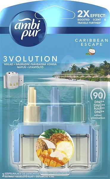 AMBI PUR 3Volution Carribean 20 ml - Osvěžovač vzduchu