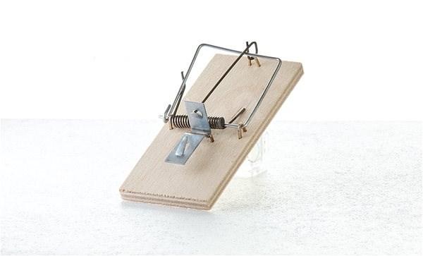 PAPÍRNA MOUDRÝ Past na myši dřevo 6 ks - Past na myši