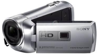 Sony HDR-PJ240ES stříbrná - Digitální kamera