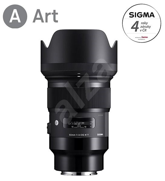 SIGMA 50mm f/1.4 DG HSM ART pro Sony E - Objektiv