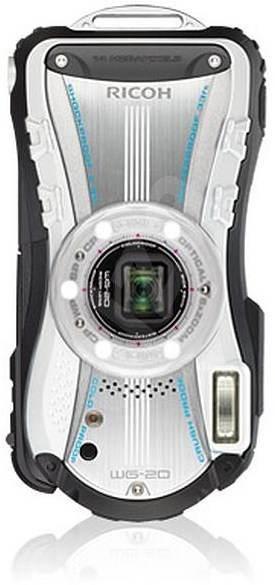 PENTAX RICOH WG-20 White - Digitální fotoaparát
