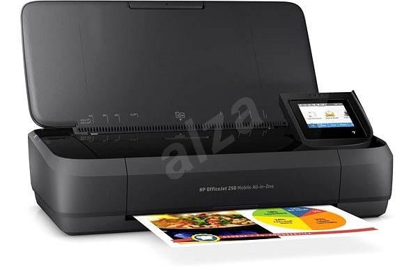 HP Officejet 252 Mobile AiO - Inkjet Printer