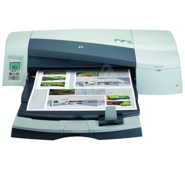 HP DesignJet 70 - Velkoformátová tiskárna