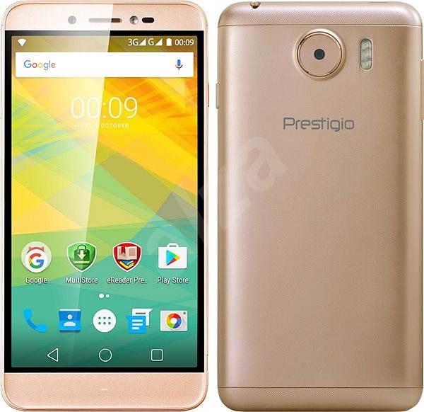 Prestigio Grace Z5 Gold - Mobilní telefon  fc23a9e2aeb