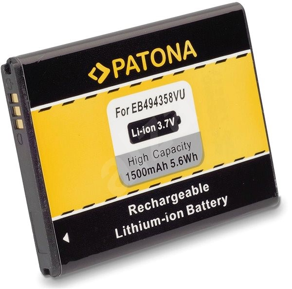 PATONA pro Samsung EB-494358VU 1500mAh 3,7V Li-Ion - Baterie pro mobilní telefon