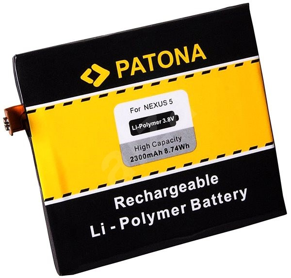PATONA pro LG Nexus 5 D820 2300mAh 3,8V Li-pol BL-T9 - Baterie pro mobilní telefon