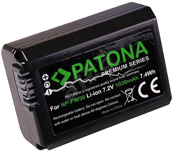PATONA pro Sony NP-FW50 1030mAh Li-Ion PREMIUM - Baterie pro fotoaparát