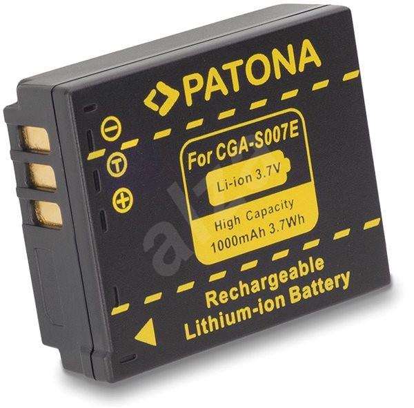 PATONA pro Panasonic CGA-S007E Li-Ion 1000mAh Li-Ion - Baterie pro fotoaparát
