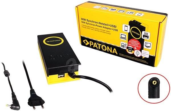 PATONA k ntb/ 19.5V/4.7A 90W/ konektor 4x1.7mm/ + výstup USB - Adaptér