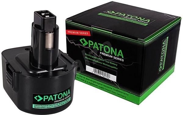 PATONA pro Black & Decker 12V 3300mAh Ni-MH Premium - Nabíjecí baterie pro aku nářadí