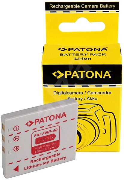 PATONA pro Fuji NP-40 600mAh Li-lon - Baterie pro fotoaparát