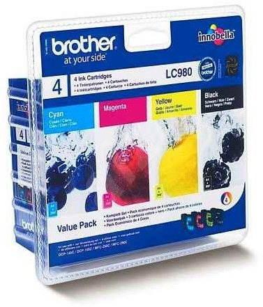Brother LC-980 Value Pack - Sada cartridge