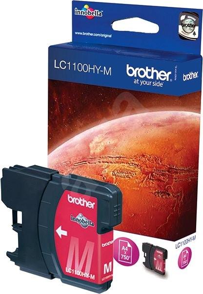 Brother LC-1100HYM purpurová - Cartridge