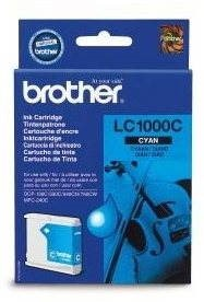Brother LC-1000C azurová - Cartridge