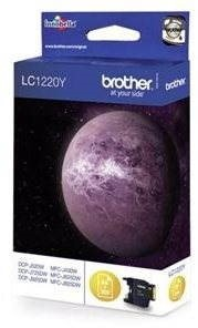 Brother LC-1220Y žlutá - Cartridge