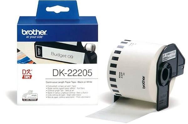 Brother DK 22205 - Papírové štítky