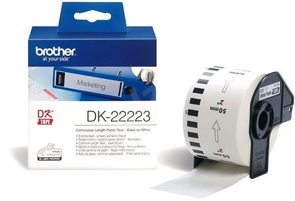 Brother DK 22223 - Papírové štítky