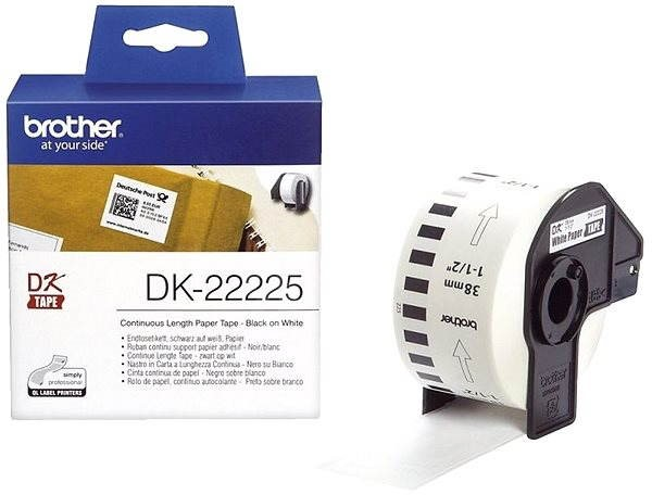 Brother DK 22225 - Papírové štítky