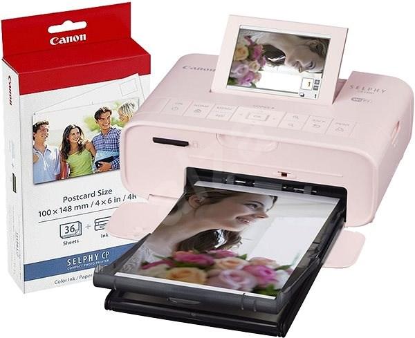 Canon SELPHY CP1300 růžová + papíry KP-36 - Termosublimační tiskárna