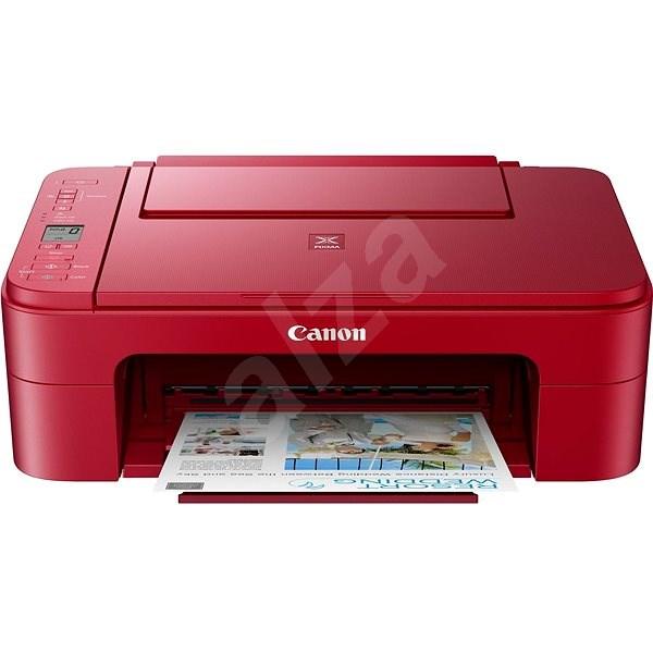 Canon PIXMA TS3352 červený - Inkoustová tiskárna