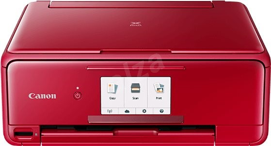 Canon PIXMA TS8152 červená - Inkoustová tiskárna