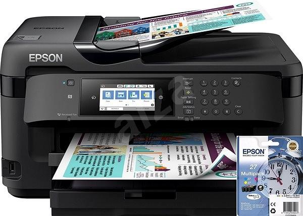 Epson WorkForce WF-7710DWF + Epson T27 Multipack - Inkoustová tiskárna
