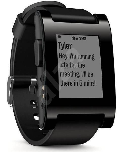 900fab6ae Pebble Smartwatch černé - Chytré hodinky | Alza.cz