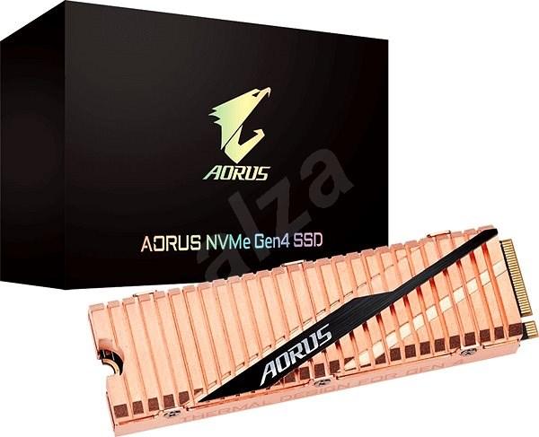 GIGABYTE AORUS NVMe Gen4 SSD 2TB - SSD disk