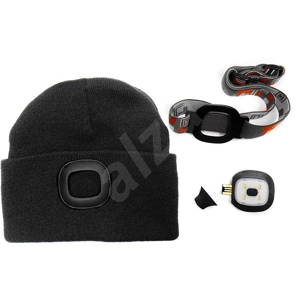 MAGG Cap with LED Light - Black - Hat