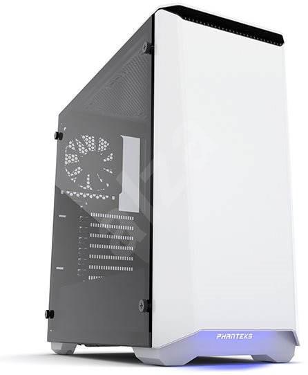 Phanteks Eclipse P400S Tempered bílá - Počítačová skříň