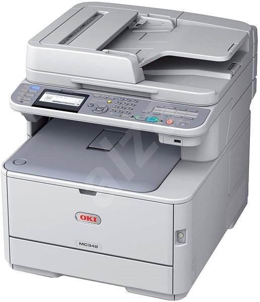 OKI MC342dn + káva - Laserová tiskárna
