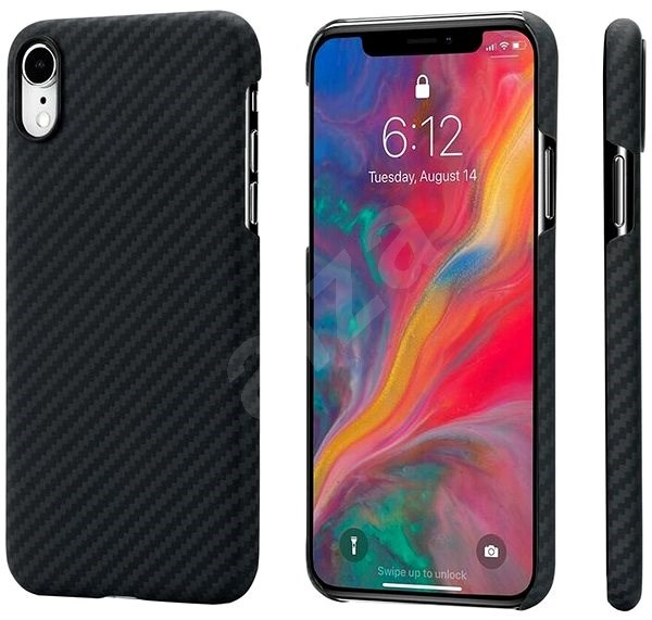Pitaka Aramid Case Black/Grey iPhone XR - Kryt na mobil