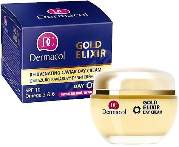 DERMACOL Gold Elixir Caviar Day Cream 50 ml - Pleťový krém