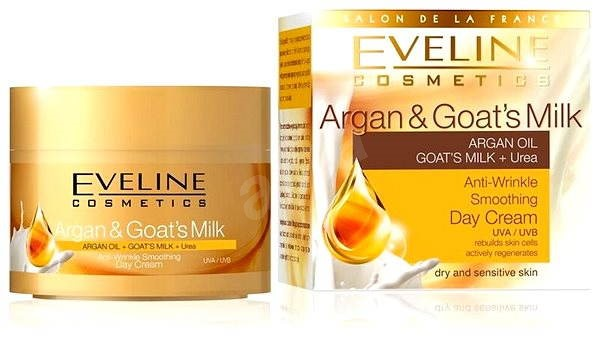 EVELINE Cosmetics Argan & Goat Milk day cream 50 ml - Pleťový krém