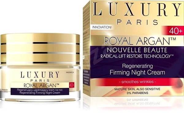 EVELINE Cosmetics Royal Argan regenerating night cream 40+ 50 ml - Pleťový krém