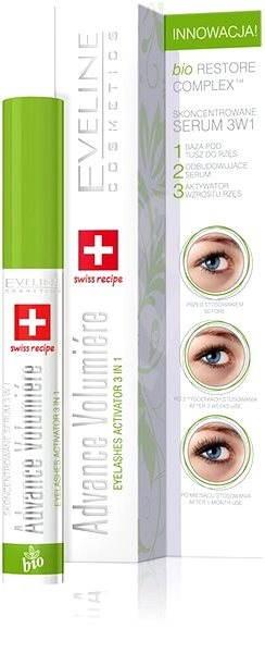 EVELINE COSMETICS Advance Volumiere eyelashes activator 3in1 10 ml - Sérum na řasy