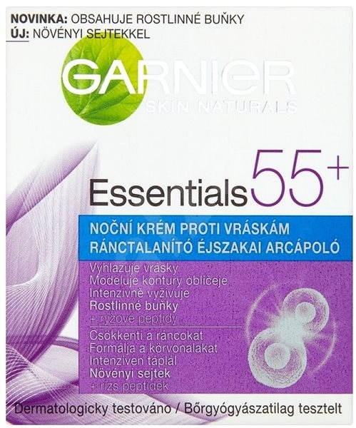GARNIER Skin Naturals Essentials 55+ noční krém 50 ml - Pleťový krém