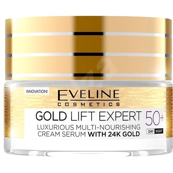 EVELINE COSMETICS Gold Lift Expert Day&Night 50+ 50 ml - Pleťový krém