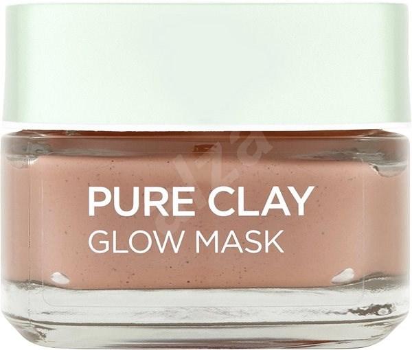 ĽORÉAL PARIS Pure Clay Glow Mask 50 ml - Pleťová maska