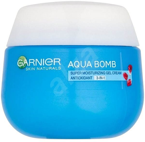 GARNIER Aqua Bomb Super Moisturizing Antioxidant 3in1 Day Gel Cream 50 ml - Pleťový gel