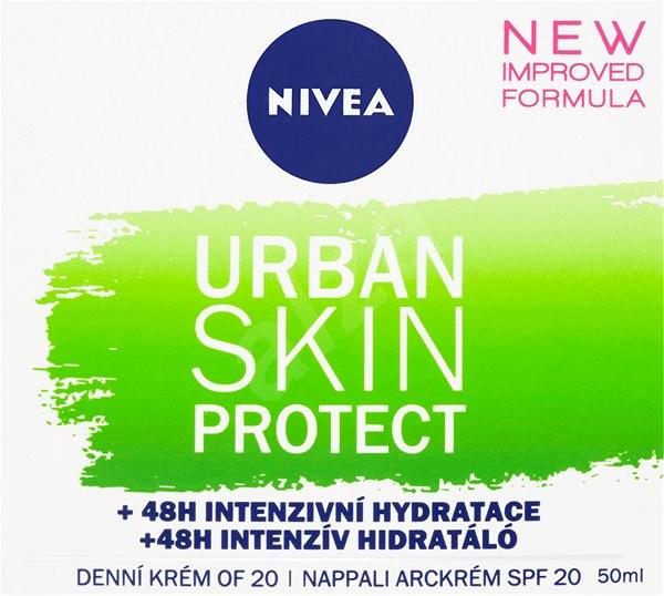 NIVEA Urban Skin Detox Defence Day Cream 50 ml - Pleťový krém