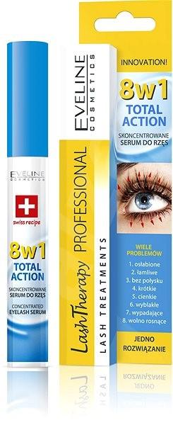 EVELINE COSMETICS Total 8in1 Eyelash Serum 10 ml - Sérum na řasy