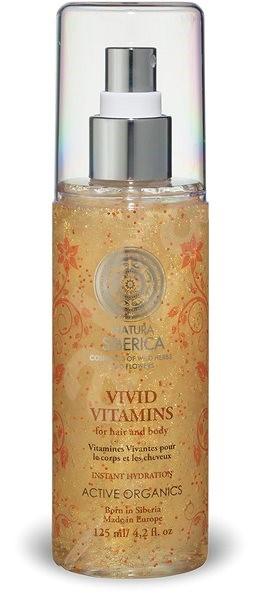 NATURA SIBERICA Živé vitamíny pro vlasy a tělo 125 ml - Pleťové sérum