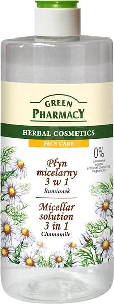 GREEN PHARMACY Micelární voda 3 v 1 Heřmánek 250 ml - Micelární voda