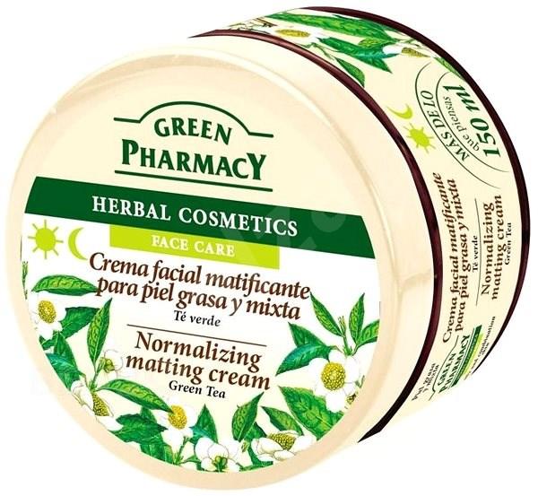 GREEN PHARMACY Normalizující matovací krém Zelený čaj 150 ml - Pleťový krém