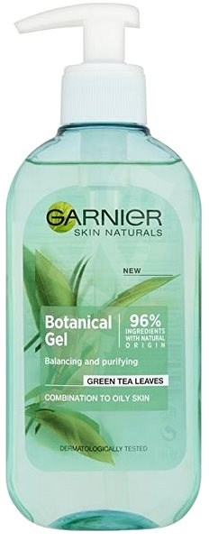 GARNIER Botanical Cleansing Gel Wash Combination to Oily Skin 200 ml - Čisticí gel