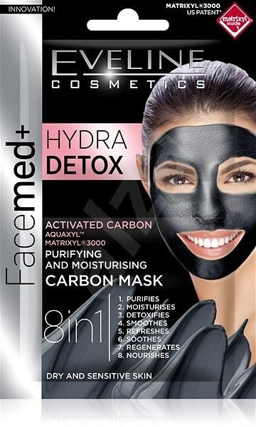 EVELINE COSMETICS Facemed Hydra Detox 2× 5 ml - Pleťová maska