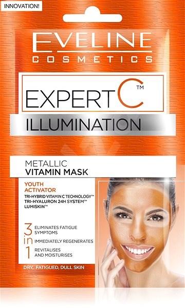 EVELINE COSMETICS Expert C Vitamin Mask 2 x 5 ml - Pleťová maska