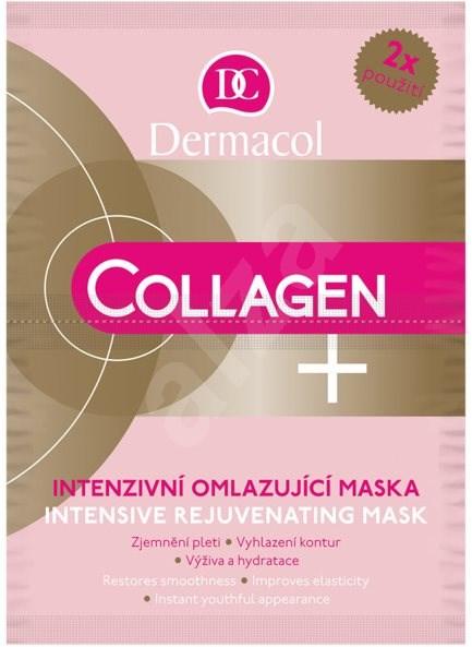 DERMACOL Collagen+ Intensive Rejuvenating Mask 2× 8 ml - Pleťová maska